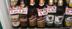 Piwo czeskie w Jabłonce
