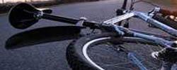 wypadek rowerów przy Hali Ludowej