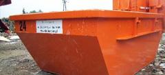 Kontenery na odpadki na Wielkiej Wyspie