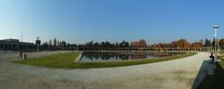 Panorama pergola przy hali stulecia