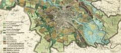 Mapa wrocławia 1927