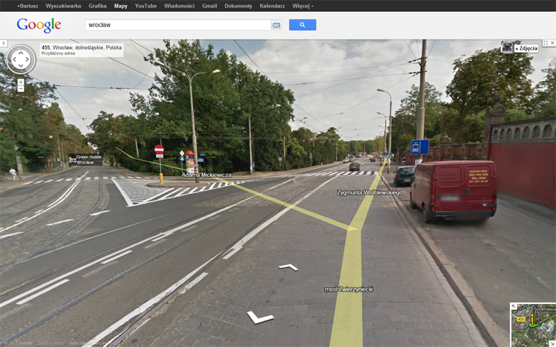 Google Street View - Wielka Wyspa