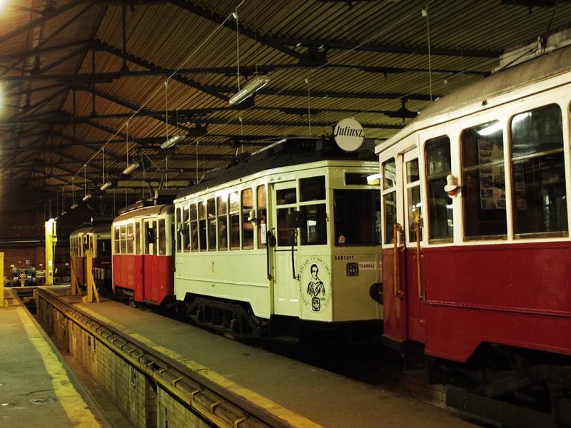 Zajezdnia Dąbie - stre tramwaje