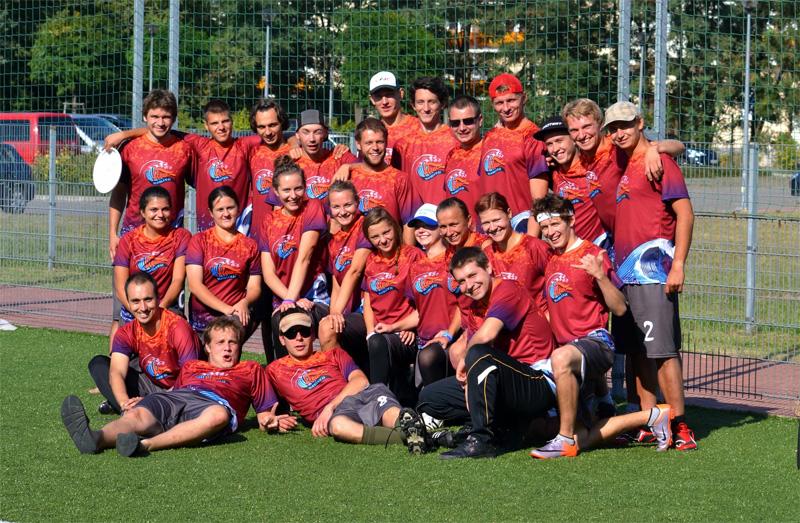 Wrocławski team Frisbee Ultimate