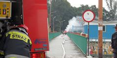 Straż pożarna na Jazie Opatowickim