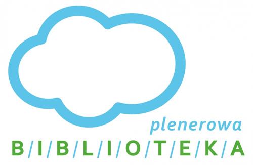 Biblioteka plenerowa logo