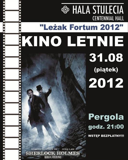 Kino Letnie Pergola - Sherlock Holmes