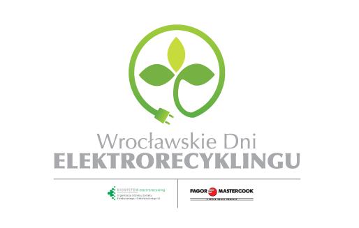 Logo wrocławskich dni elektrorecyklingu