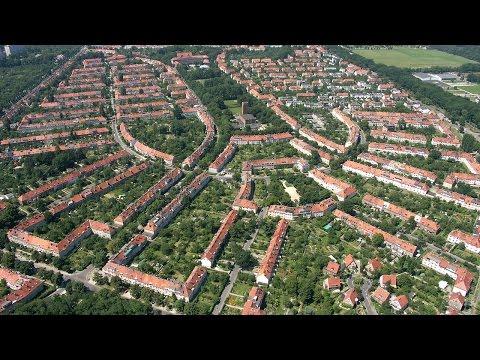 film z drona Sępolno Wrocław